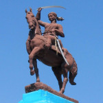 Statue of the Rani of Jhansi